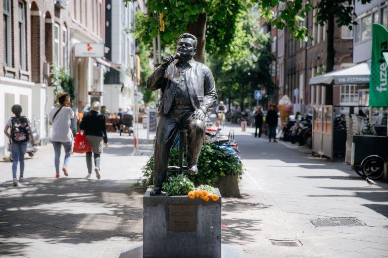 Statue of André Hazes